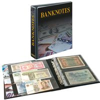 "PUBLICA M Banknote Album with 20 double-sided ""Multi collect"" pages in 2 different layouts – Bild 1"