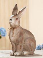 "Gilde Magnesihase ""Lilo"" sitzend, 42 cm, braun"