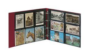 Ringbinder STANDARD XL II Wahl inkl. 20 Postkartenhüllen - weinrot – Bild 2