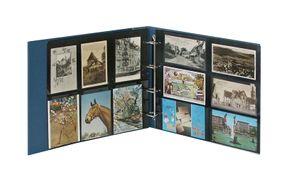 Ringbinder STANDARD XL II Wahl inkl. 20 Postkartenhüllen - blau – Bild 2