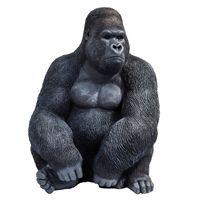 "Kare Deko Affe Figur ""Monkey Gorilla XL"", 76 cm, schwarz"