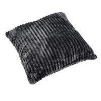 Formano Kissen Cord, 50x50 cm, grau silber