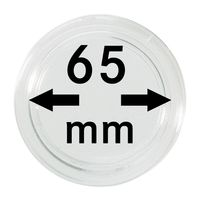 Coin capsules internal Ø 65 mm inside height 5,4 mm, per piece