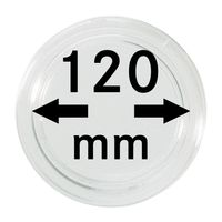 Coin capsules internal Ø 120 mm inside height 9,2 mm, per piece