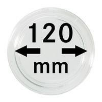 Capsules monnaies Ø intérieur 120 mm, hauteur intérieure 9,2 mm, à l'unité