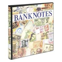 Banknote Album with 10 crystal clear pages in 2 different layouts and black interleaving pages – Bild 3