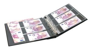 "Set: PUBLICA M Album for ""Euro Souvenir"" with 10 double-sided foil pages, incl. catalogue of 0-Euro-Souvenir notes – Bild 4"