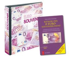 "Set: PUBLICA M Album for ""Euro Souvenir"" with 10 double-sided foil pages, incl. catalogue of 0-Euro-Souvenir notes – Bild 1"