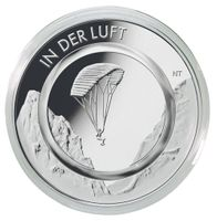 Coin case NERA S for 5 pieces encapsulated 10€ collector coins Germany with polymer ring, incl. coin capsules – Bild 3