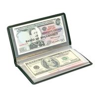 Pocket album for bank notes and other documents