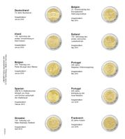 Printed page for 2 Euro commemorative coin: Germany 2019 up to France 2019