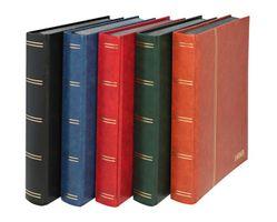 "Stockbook ""LUXUS"" with 60 black pages, 230 x 305 mm, blue – Bild 2"