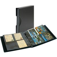 Set: Postcard Album SRS with 20 transparent pages for postcards and matching slipcase – Bild 1