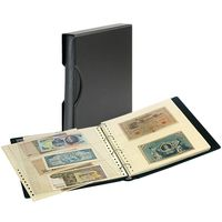 Set: Banknote Album SRS with 20 transparent pages for banknotes and matching slipcase – Bild 1