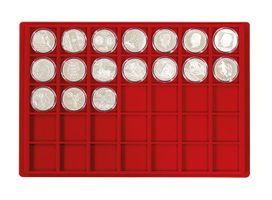 Valigetta di dimensioni maggiori per collezione di moente con 8 vassoi a vostra scelta – Bild 7