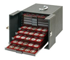 Coin box carrying case NERA MB 10, 265 x 325 x 255 mm incl. 10 coin boxes of own choise – Bild 1