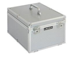 Boxen-Koffer Aluminium, 260 x 340 x 200 mm inkl. 8 Münzboxen nach Wahl – Bild 2