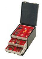 Boxen-Koffer COMPACT, 255 x 330 x 225 mm inkl. 8 Münzboxen nach Wahl – Bild 2