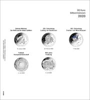 Illustrated page karat for 20 Euro Silver coins Germany 2020