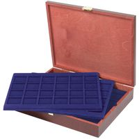 LINDNER Authentic wood case CARUS for 120 coins/coin capsules up to Ø 42 mm - SPECIAL EDITION – Bild 1