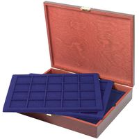 LINDNER Authentic wood case CARUS for 100 coins/coin capsules up to Ø 47 mm - SPECIAL EDITION – Bild 1