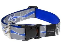 ROGZ Reflective Halsband blau