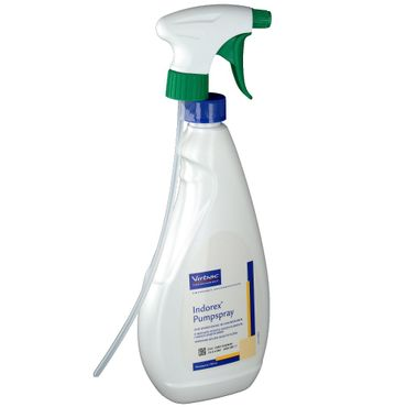 Indorex  Pumpspray zur lokalen Anwendung gegen Flöhe in Innenräumen