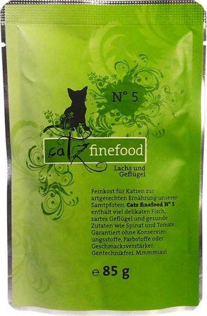 Catz Finefood Lachs und Geflügel