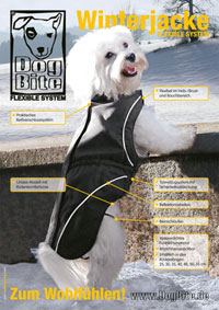 Dogbite Flexible System-Winterjacke anthrazit – Bild 3
