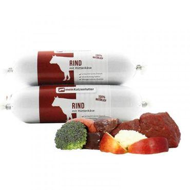 Ritzenberger Rind mit Gemüse und Hüttenkäse