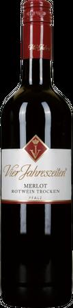 Vier Jahreszeiten Winzer Merlot trocken (0,75 l) Jahrgang 2014