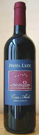 Prima Luce, Colli di Faenza Rosso DOC, Azienda Agricola Costa-Archi, Jahrgang 2006