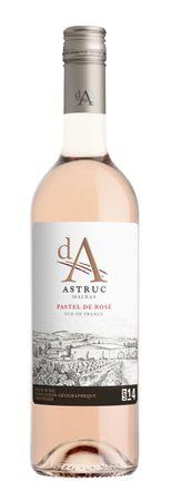 d.A. Pastel de Rose LOT 14, Vignobles Astruc Malras, Pays d´Oc IGP, Frankreich, Jahrgang 2017