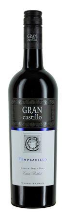 Tempranillo lieblich Gran Castillo, Valencia DO, Bodega Gran Castillo, Jahrgang 2016