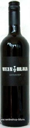 Weingut Manz Weinolsheim, Blum Edition Rot, Rotwein-Cuvee trocken, Jahrgang 2016