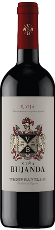 Vina Bujanda Tinto Joven Tempranillo (0,75 l), Rioja D.O., Familia Martinez Bujanda, Jahrgang 2015