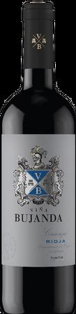 Vina Bujanda Crianza (0,75 l), Rioja D.O., Familia Martinez Bujanda, Jahrgang 2012