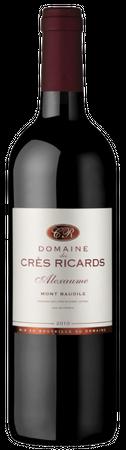 Domaine des Cres Ricards, Alexaume, Sud de France, Pays d´Oc IGP, Frankreich, Jahrgang 2017