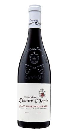 Chateauneuf du Pape Tradition Rouge, Domaine Chante Cigale, Appellation D´Origine Protégée, Rhone, Frankreich, Jahrgang 2015