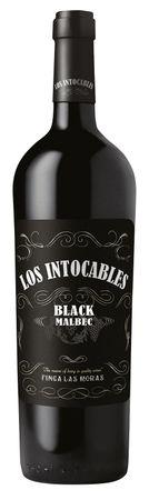Los Intocables Black Malbec Finca Las Moras, Valle de Pedernal, San Juan, Argentinien (0,75 l) Jahrgang 2017 – Bild 1