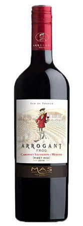 Arrogant Frog Cabernet Sauvignon - Merlot, Ribet Red, Jean Claude Mas, Pays d´Oc IGP, Frankreich, Jahrgang 2017