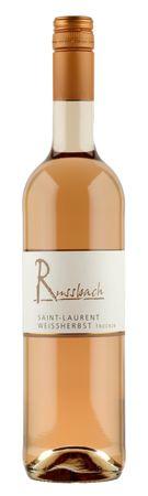 Russbach Saint-Laurent Weissherbst trocken, Weingut Russbach, Eppelsheim, Rheinhessen, Jahrgang 2018 – Bild 1