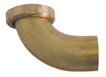 """Ablaufanschluss gewinkelt 1¼"""" Messing Schlauchanschluss 26mm"""
