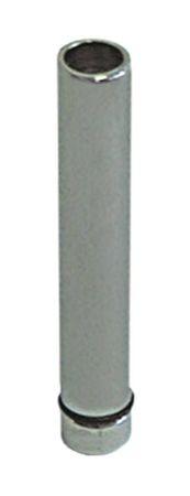 """Standrohr mit O-Ring Aussen 20mm Größe 3/4"""" Höhe 124mm Messing"""