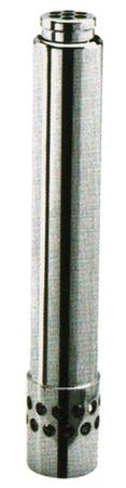 """Standrohr Aussen 46mm mit Filter Größe 2"""" Höhe 310mm Messing"""