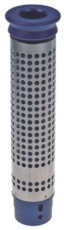 """Standrohr Aussen 48mm Größe 1½"""" Höhe 195mm CNS/Kunststoff"""