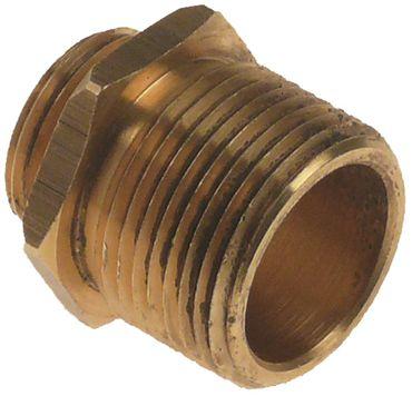 "Hoonved Doppelnippel 1/2"" G2 3/4"" 1/2"" - 3/4"" L1 7mm L2 19mm"