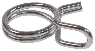 Drahtschelle Drahtstärke 1,2mm Stahl verzinkt VPE 100 Stück