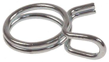 Drahtschelle Drahtstärke 1,5mm Stahl verzinkt VPE 100 Stück