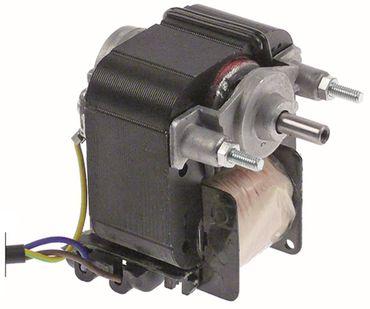 Cookmax Lüftermotor Achse ø 6x14mm Breite 62mm 50/60Hz 35W